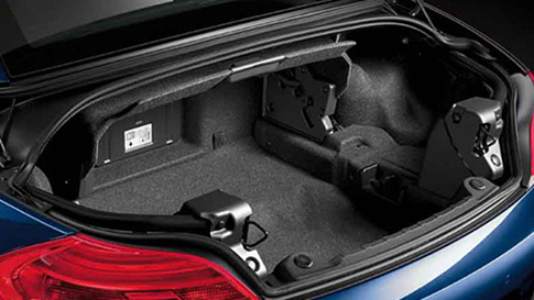BMW Z4 Roadster boot space